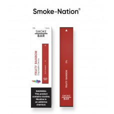 Smoke-Nation Disposable Smoke Bar -  Fruity Rainbow Flavour 5% Nicotine