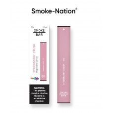 Smoke-Nation Disposable Smoke Bar -  Strawberry Crush Flavour 5% Nicotine