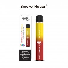 Smoke Nation SmokeBar SWITCH - Ice Banana & Fruity Rainbow Combo 5% Nicotine